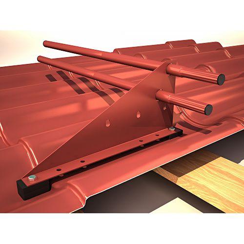 Самостоятельная установка снегозадержателей на крышу — виды и порядок монтажа